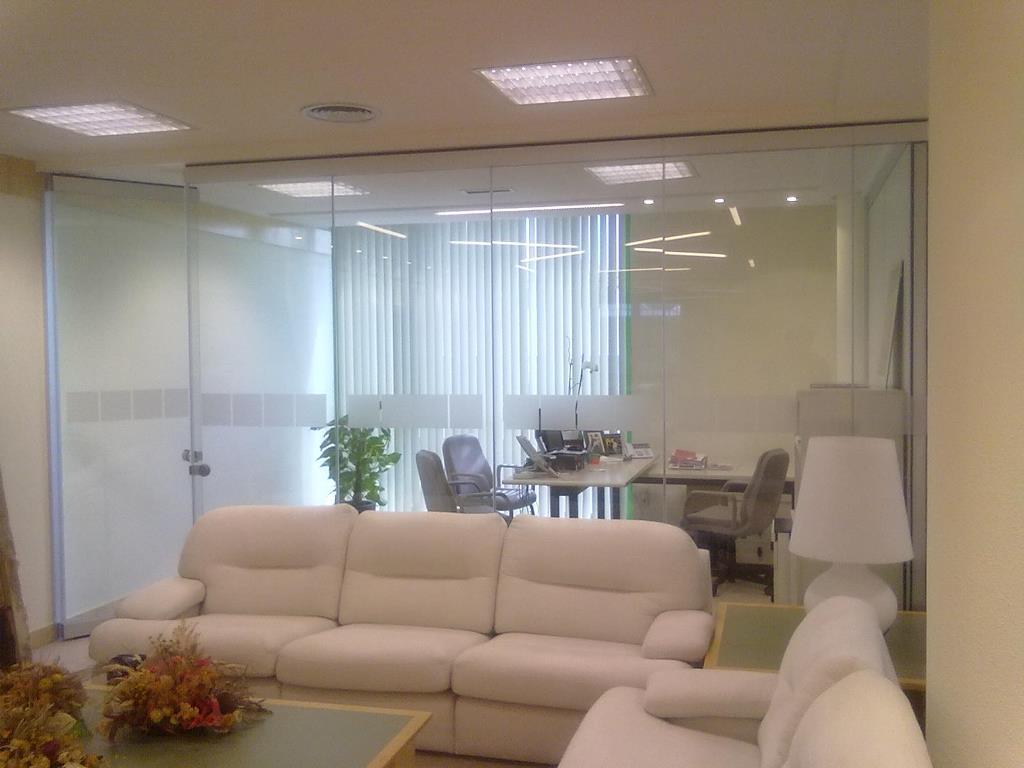 D. cristal 2 - Instalación Despacho Cristal