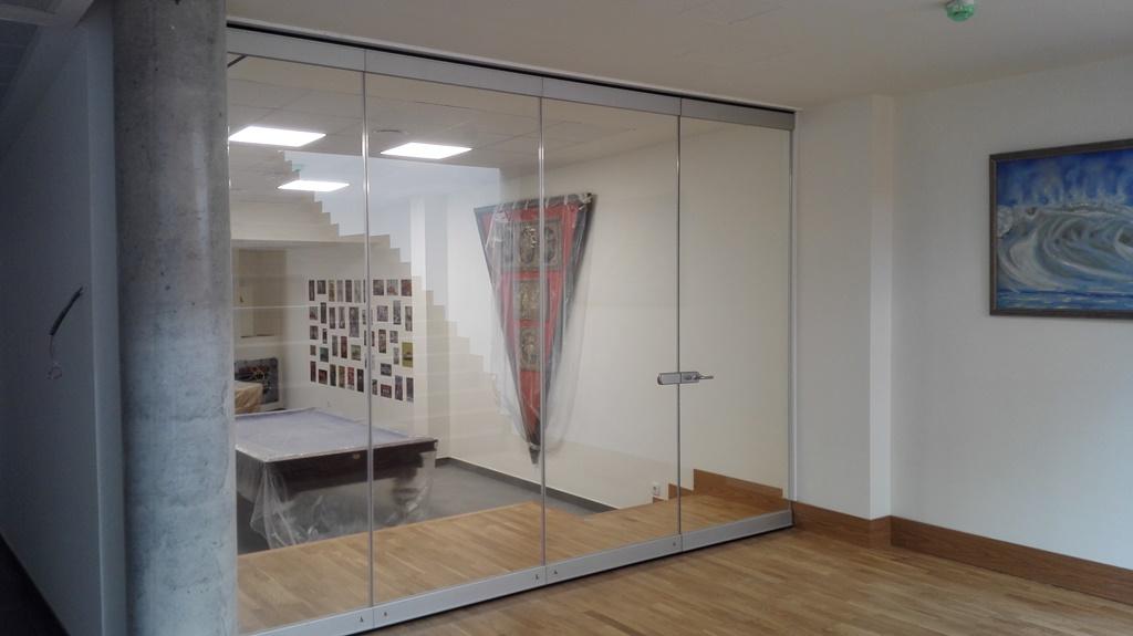 Residencia cristal 1 - Instalación en Residencia de Cristal