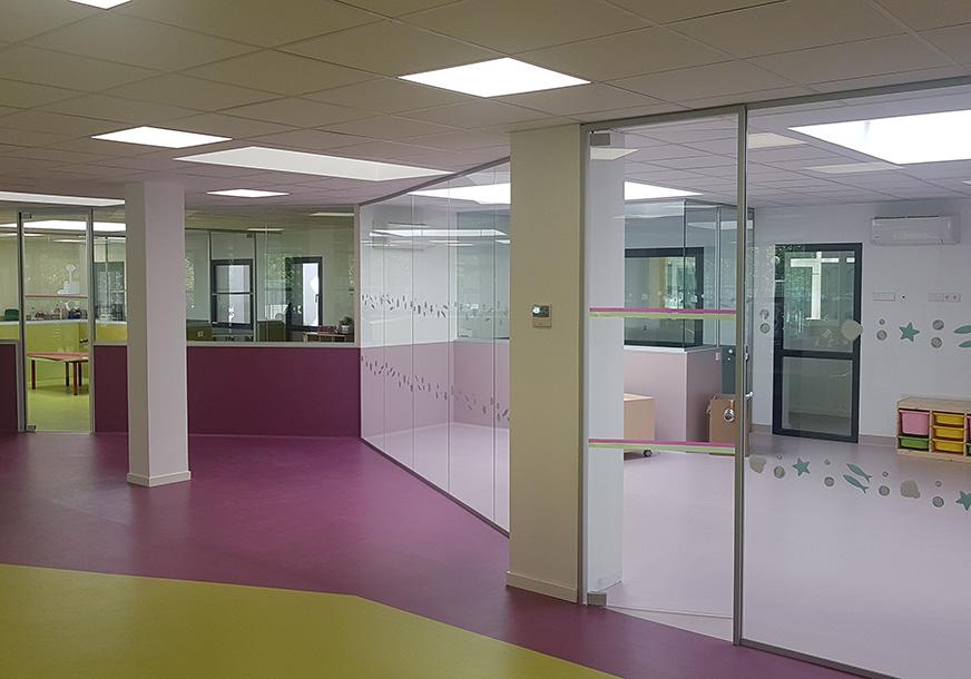 Instalación en Colegio Privado Cdad. Madrid
